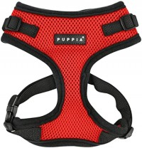 PUPPIA RED  RITEFIT HARNESS SIZE LARGE