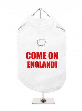 Come On England  Unisex Harness T Shirt