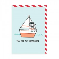 Funny Gemma Correll Pug Blank Card For All Occasions
