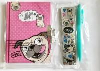 Pug Diary Set