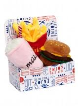 Hamburger Meal Deal Toy Box