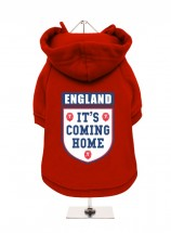 It's Coming Home Red England Unisex Hoodie