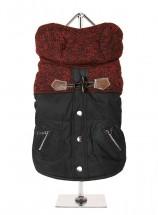 Cheviot Unisex Red & Black Urban Pup Coat