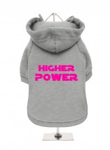 Higher Power Fleece Lined Unisex Hoodie  (Available in 3 colours)