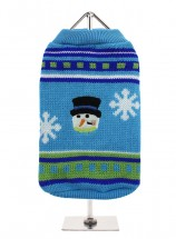 URBAN PUP UNISEX CHILLY SNOWMAN  SWEATER